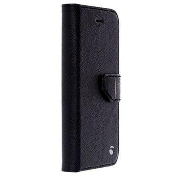 iPhone 7 Krusell Boras Lompakkokotelo Musta