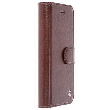 iPhone 7 Krusell Ekerö 2-in-1 Lompakkokotelo Kahvi