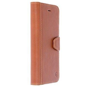 iPhone 7 Krusell Sigtuna Lompakkokotelo Konjakki