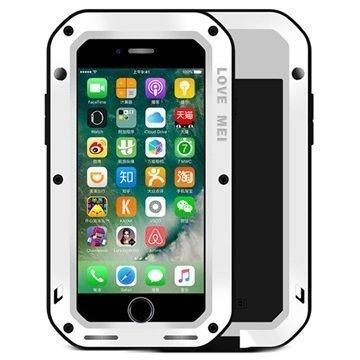 iPhone 7 Love Mei Powerful Suojakuori Valkoinen