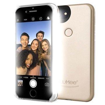 iPhone 7 LuMee Two LED-Valaistu Kotelo Kulta