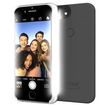 iPhone 7 LuMee Two LED-Valaistu Kotelo Musta
