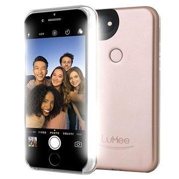 iPhone 7 LuMee Two LED-Valaistu Kotelo Ruusukulta