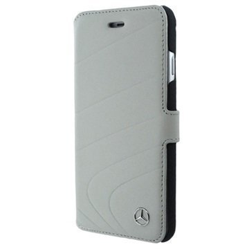 iPhone 7 Mercedes-Benz Organic I Wallet Leather Case Grey