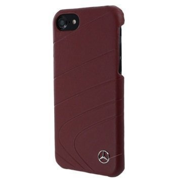 iPhone 7 Mercedes-Benz Organic II Leather Case Red