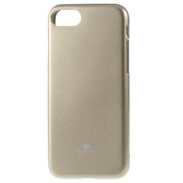 iPhone 7 Mercury Goospery TPU Case Gold
