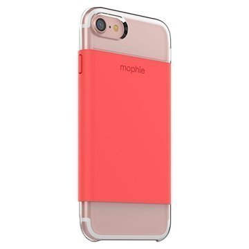 iPhone 7 Mophie Base Wrap Case Coral