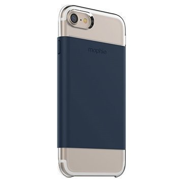 iPhone 7 Mophie Base Wrap Case Navy Blue