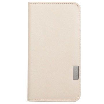 iPhone 7 Moshi Overture Lompakkokotelo Sahara Valkoinen