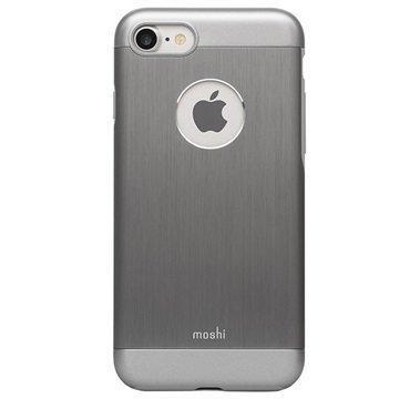 iPhone 7 Moshi iGlaze Armour Suojakuori Harmaa