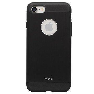 iPhone 7 Moshi iGlaze Armour Suojakuori Musta