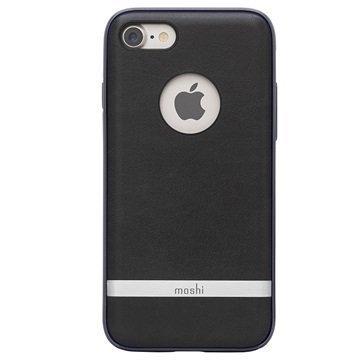 iPhone 7 Moshi iGlaze Napa Kotelo Musta