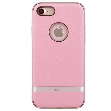 iPhone 7 Moshi iGlaze Napa Kotelo Pinkki