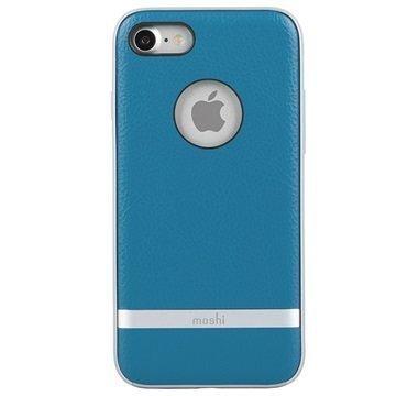 iPhone 7 Moshi iGlaze Napa Kotelo Sininen