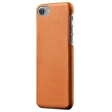 iPhone 7 Mujjo Nahkainen Suojakuori Keltaruskea