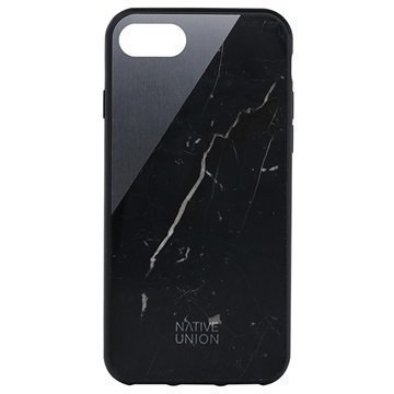 iPhone 7 Native Union Clic Marble Suojakuori Musta