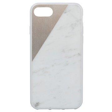 iPhone 7 Native Union Clic Marble Suojakuori Valkoinen