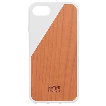 iPhone 7 Native Union Clic Wooden Suojakuori Valkoinen / Kirsikkapuu