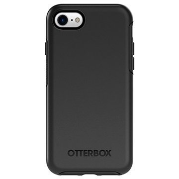 iPhone 7 OtterBox Symmetry Series Kotelo Musta