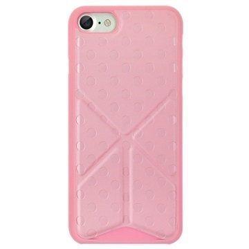 """iPhone 7 Ozaki O!Coat 0.3+ Totem suojakuori â"""" Vaaleanpunainen"""