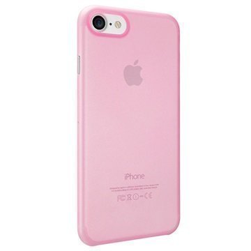 iPhone 7 Ozaki O!Coat Jelly Suojakuori Pinkki