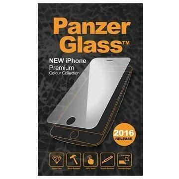 iPhone 7 PanzerGlass Premium Karkaistu Lasinen Näytönsuoja Hopea