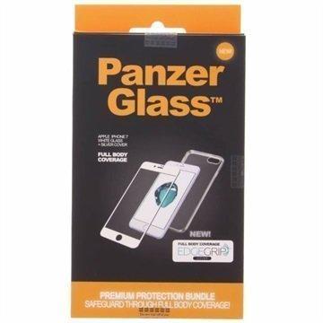 iPhone 7 PanzerGlass Premium Suojaussetti Valkoinen / Hopea