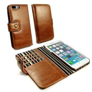 iPhone 7 Plus Alston Craig lompakkokotelo Ruskea