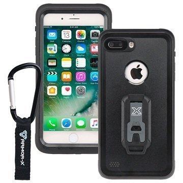 iPhone 7 Plus Armor-X MX-AP7P Vedenkestävä Kotelo Musta