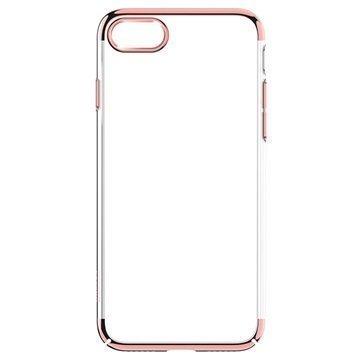 iPhone 7 Plus Baseus Glitter Suojakuori Ruusukulta