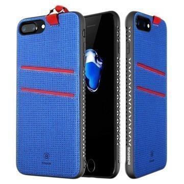 iPhone 7 Plus Baseus Lang Suojakuori Sininen