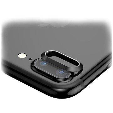 "iPhone 7 Plus Baseus kameran linssin suojarengas â"" Musta"