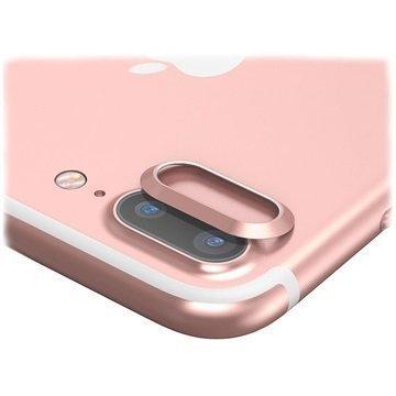 "iPhone 7 Plus Baseus kameran linssin suojarengas â"" Ruusukulta"