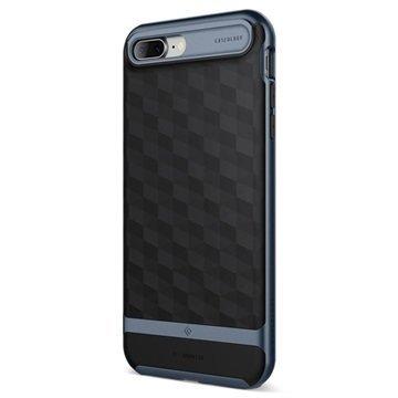 iPhone 7 Plus Caseology Parallax Hybrid Suojakuori Musta / Tummansininen