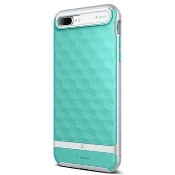 iPhone 7 Plus Caseology Parallax Hybridi-suojakuori Minttu / Hopea