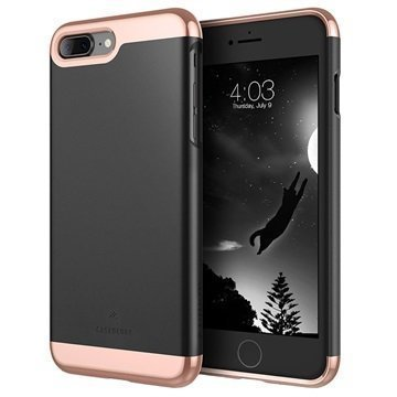 iPhone 7 Plus Caseology Savoy Kotelo Musta