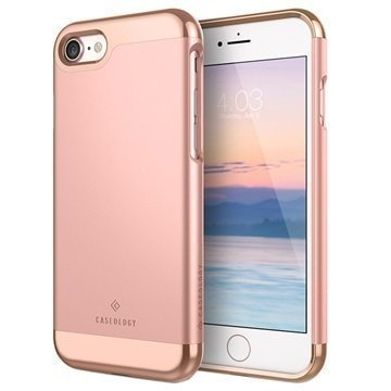 iPhone 7 Plus Caseology Savoy Kotelo Ruusukulta