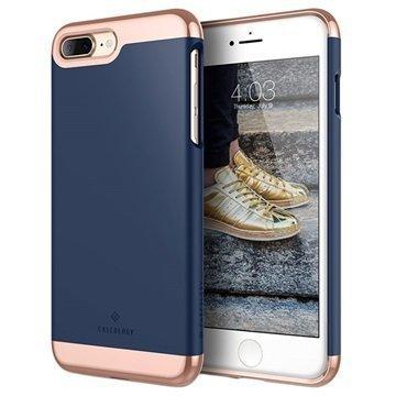 iPhone 7 Plus Caseology Savoy Kotelo Tummansininen