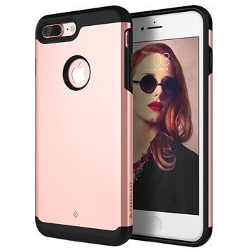 iPhone 7 Plus Caseology Titan Kotelo Ruusukulta
