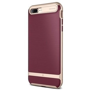 iPhone 7 Plus Caseology Wavelength Suojakuori Burgundy Punainen