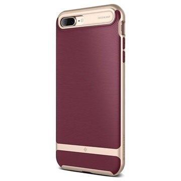 iPhone 7 Plus Caseology Wavelength Suojakuori Burgundy Punainen