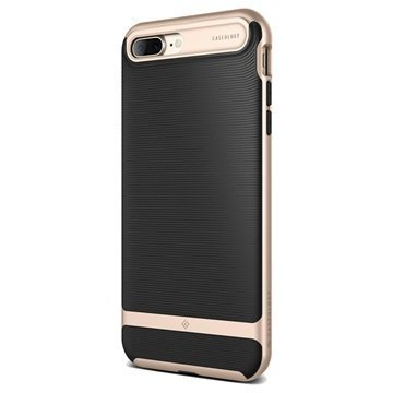 iPhone 7 Plus Caseology Wavelength Suojakuori Musta / Kulta