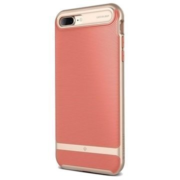 iPhone 7 Plus Caseology Wavelength suojakuori Korallinpunainen