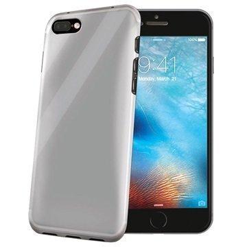 iPhone 7 Plus Celly Gelskin TPU Suojakuori Läpinäkyvä