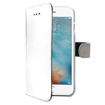 iPhone 7 Plus Celly Wally Lompakkokotelo Valkoinen