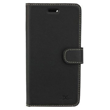 iPhone 7 Plus DC Luka Wallet Leather Case Black
