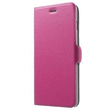 iPhone 7 Plus Doormoon Läppäkotelo Kuuma Pinkki