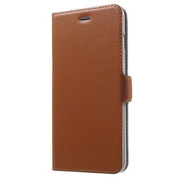 iPhone 7 Plus Doormoon Läppäkotelo Ruskea