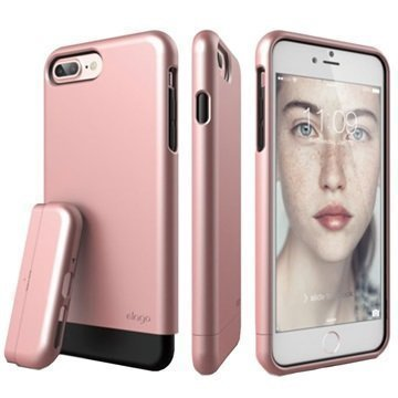iPhone 7 Plus Elago Glide Case Rose Gold