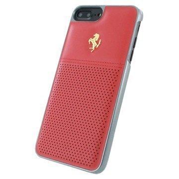 iPhone 7 Plus Ferrari GT Berlinetta Nahkakuori Punainen